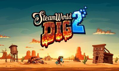 SteamWorld Dig 2 capa