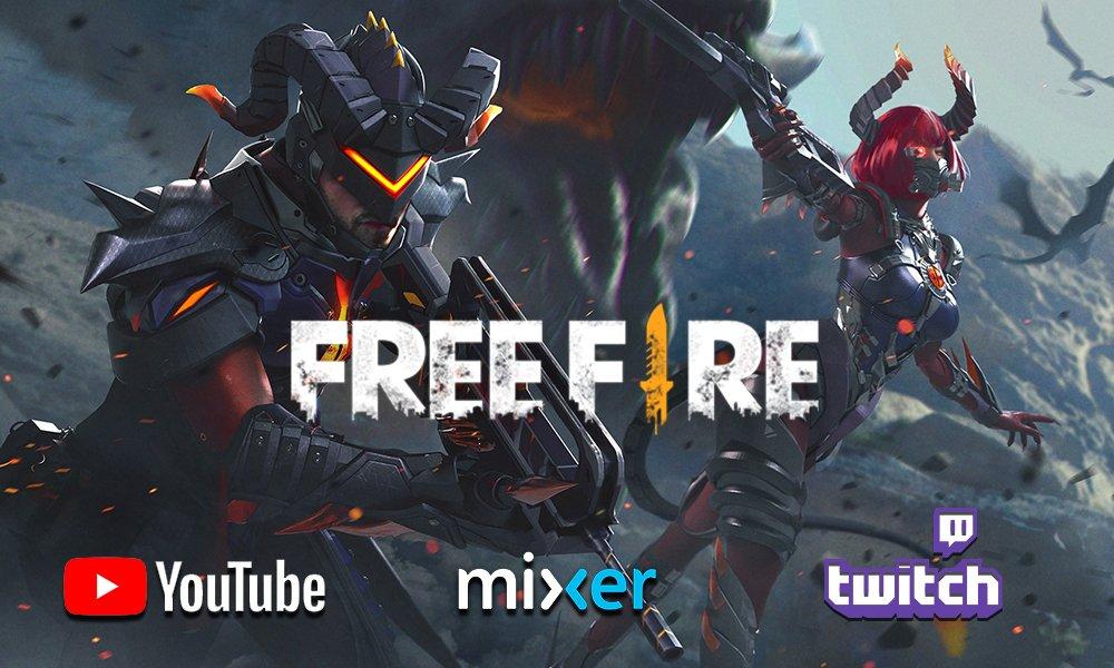 Free Fire Assista Agora Ao Nosso Gameplay Ao Vivo Playreplay