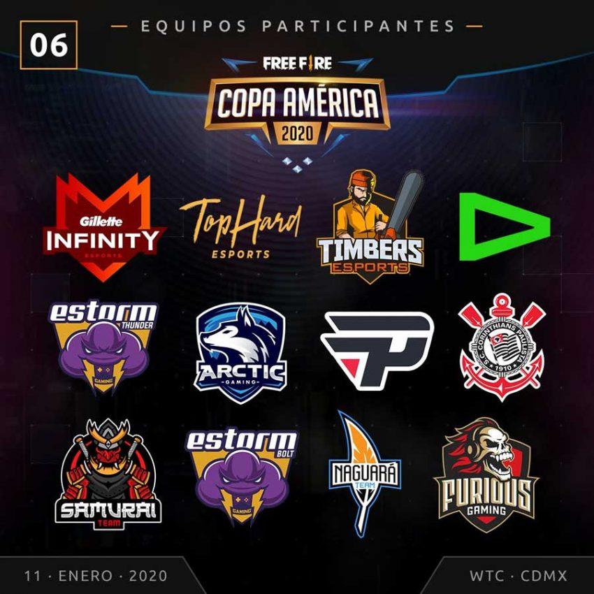Free Fire Copa América 2020