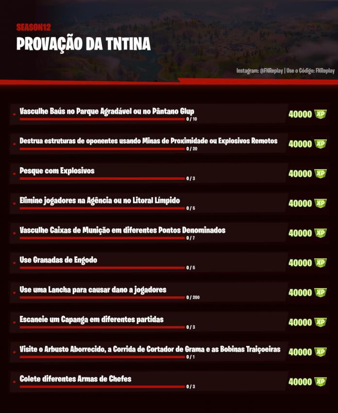 Fortnite Desafios Temporada 2 Capítulo 2