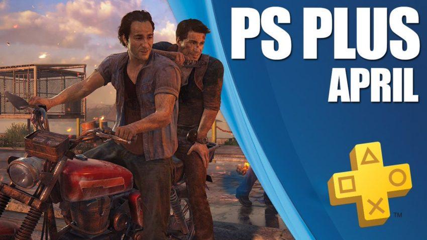 Uncharted 4 na PS Plus de abril de 2020
