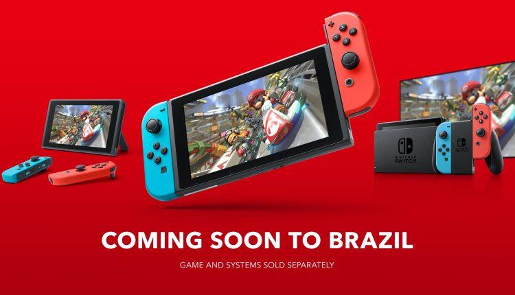 Nintendo de volta ao Brasil