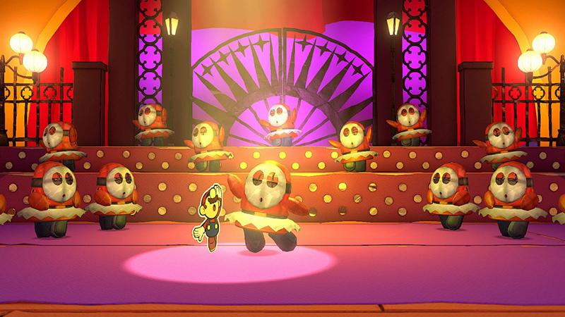 Dança - Análise Paper Mario: The Origami King
