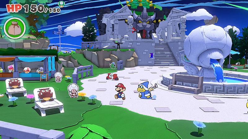 Mundo - Paper Mario: The Origami King