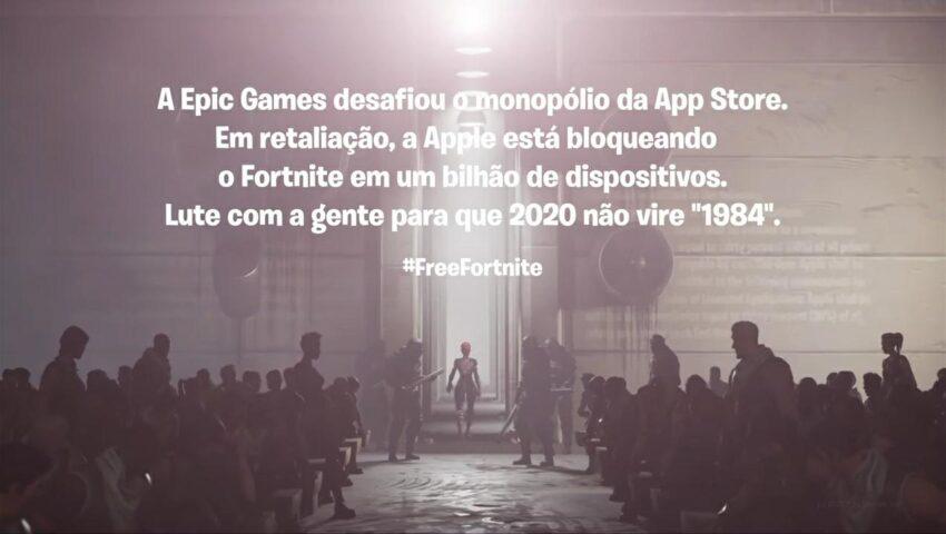 Fortnite é banido da App Store e da Google Play