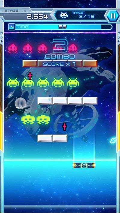 Space Invaders Arkanoid
